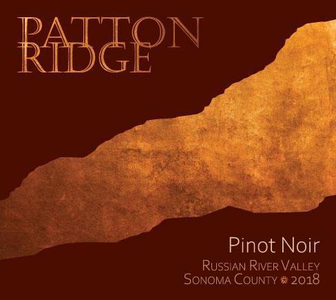 Patton Ridge 2018 Pinot Noir RRV