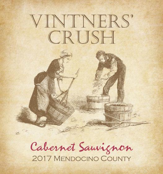 Vintners Crush 2017 Cabernet Sauvignon Mendocino County