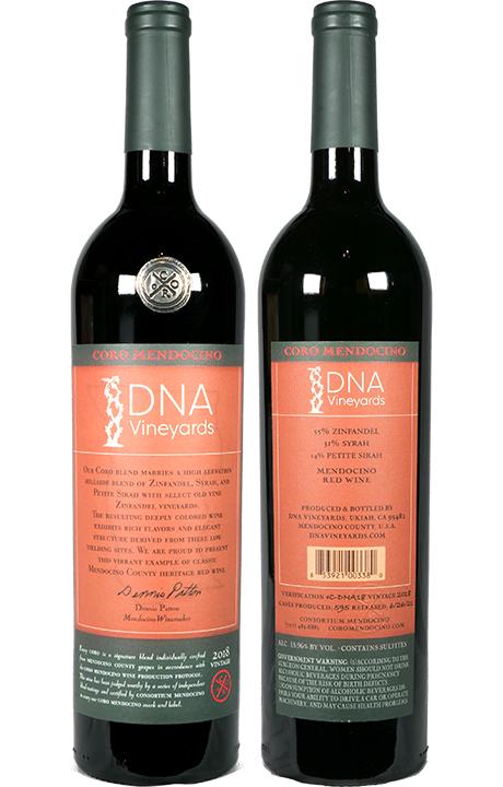 Coro Mendocino 2018 Red Blend - DNA Vineyards